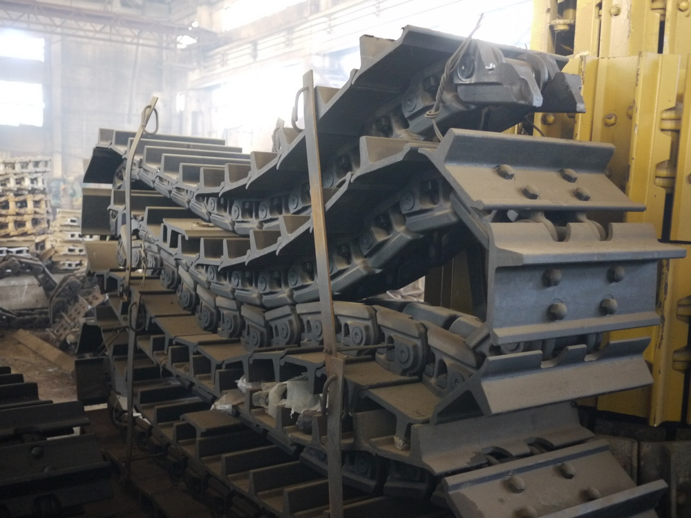 завод по производству гусениц в россии тип это навальный
