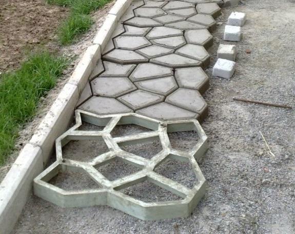 Как сделать формы для плитки своими руками