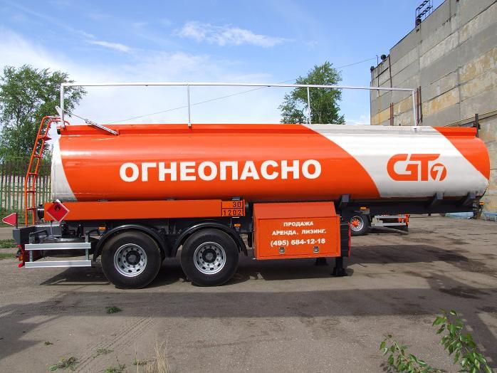 Полуприцеп-транспортировщик бензина GT7 ППЦ-22