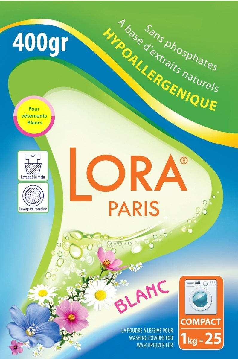 Стиральные порошки LORA PARIS