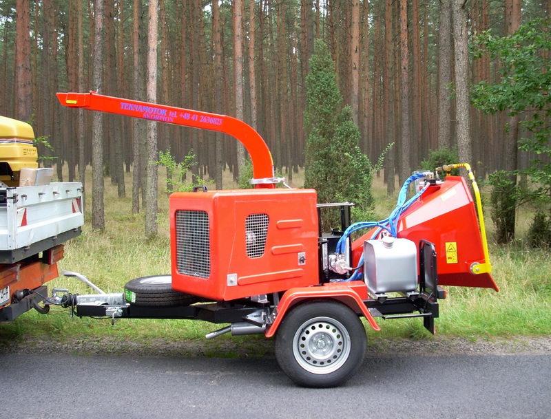 Рубительные машины от компании Teknamotor (Польша).