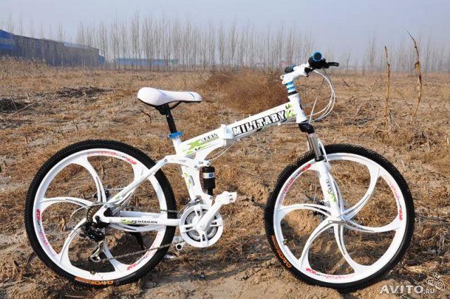 Горный, складной велосипед Military