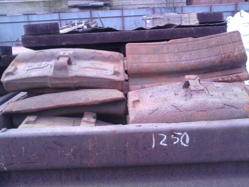 Колодка тормозная локомотивная гребневая тип М ГОСТ 30249-97