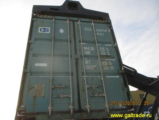 Аренда и продажа бу морских и жд контейнеров 20, 40 футов. Звоните.