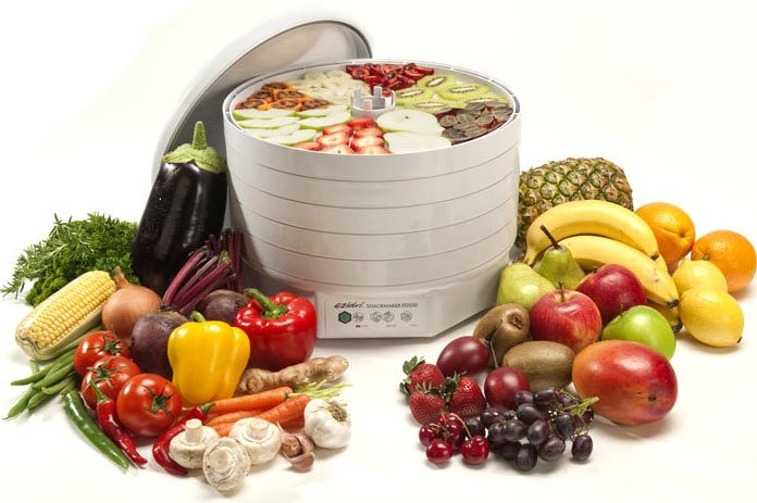 Сушилка для фруктов и овощей Ezidri Snackmaker FD500 и Ezidri Ultra FD1000
