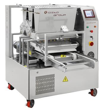 Трехбункерная тестоотсадочная машина TRIOMIX 600