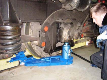 Станок для обточки колсных пар вагонов и тепловозов