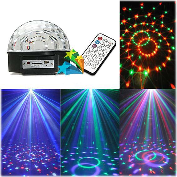 Диско шар с мп3 плеером, disco ball, светомузыка