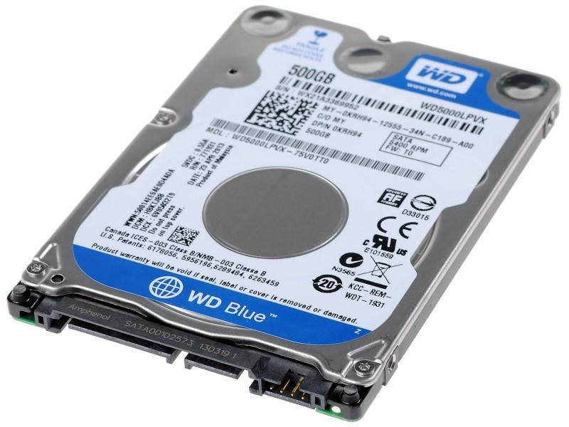 Жесткие диски 2.5d от250-750gb