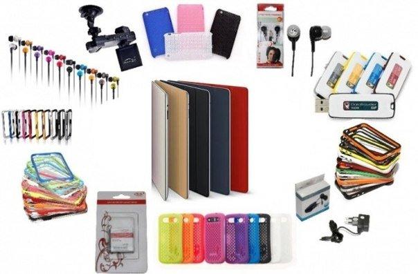 Оптовая продажа аксессуаров для сотовых телефонов