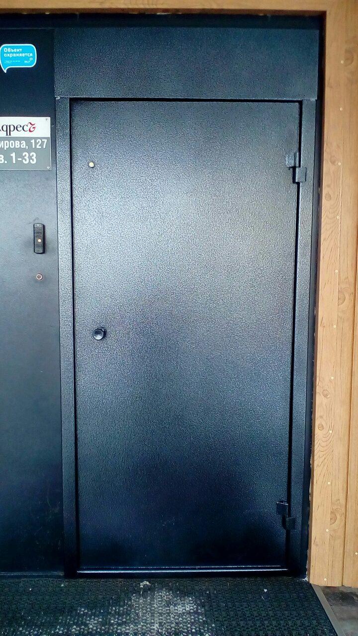 производство металлических дверей для подьездов