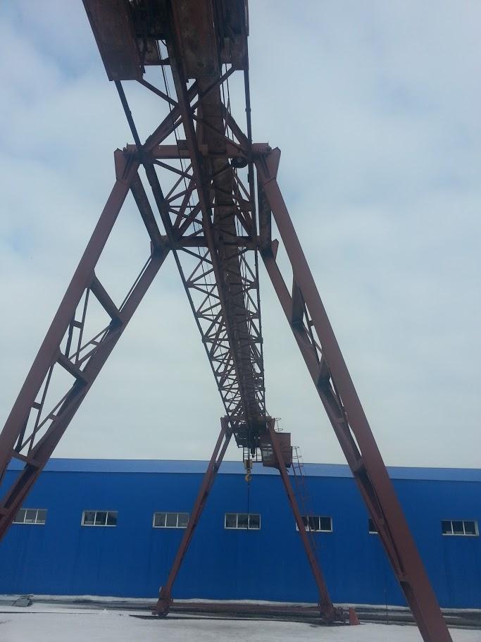 Продается кран козловой КК 12,520 Вологодский завод