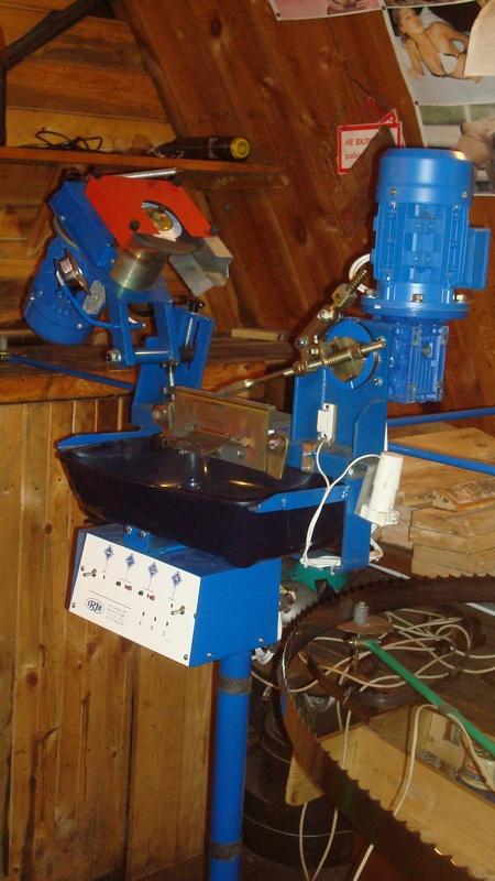 Заточные станки для ленточных, дисковых, гатерных пил Irm Латвия.