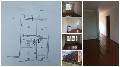 Продам 3 комнатную квартиру в деревне Жарынь Рославльский район