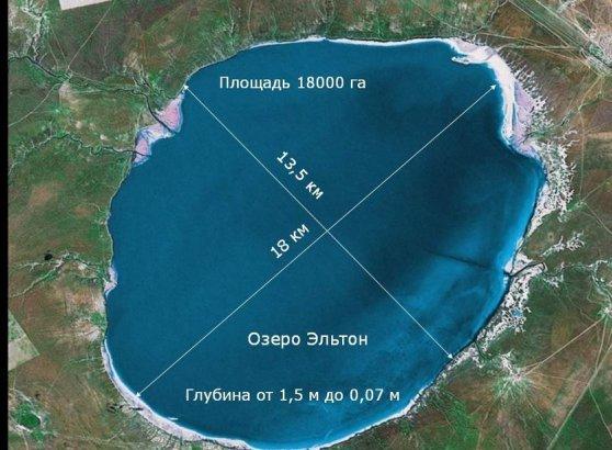 Участок 36 га на берегу соленего озера Эльтон аналог Мертвого моря