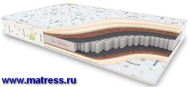 Матрасы в МО Flex Mattress Mix Comfort Plus TFK