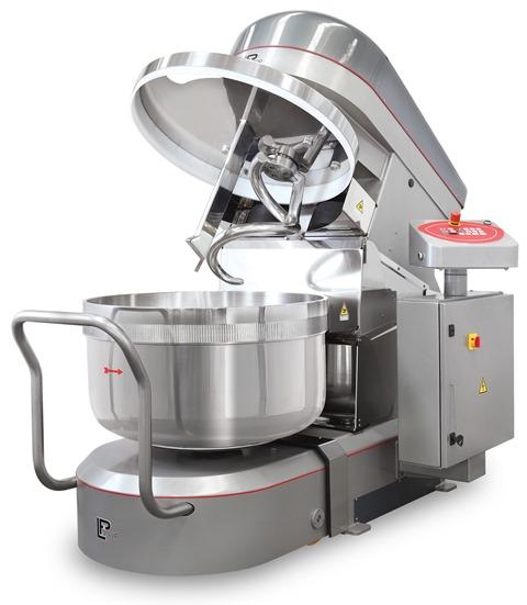 Тестомесильные машины от 50 кг до 500 кг теста LPgroup Италия.
