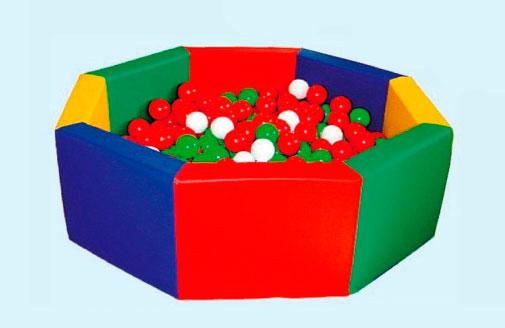 Мягкие модули для детских садов