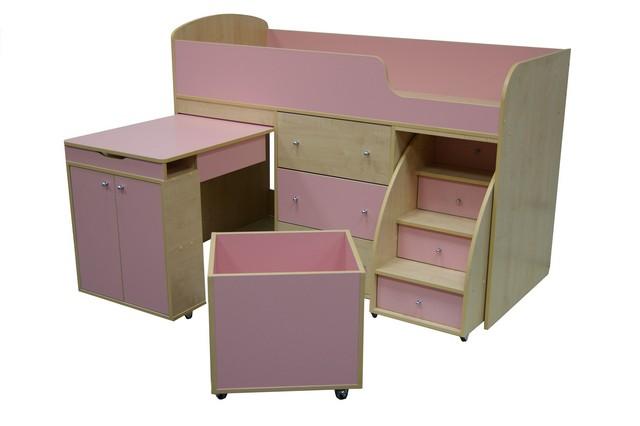 Кровать-чердак для малыша. Напрямую с фабрики. Доставка за 1 день.