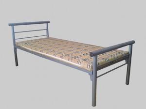 Кровати металлические армейского образца для размещения рабочих, строителей