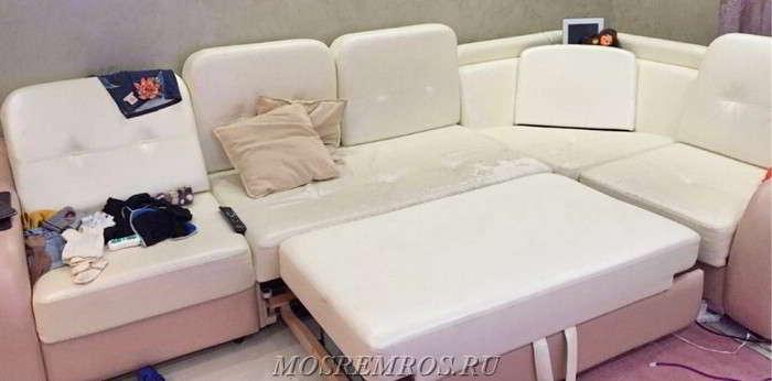 Ремонт и реставрация мягкой мебели в Москве и МО