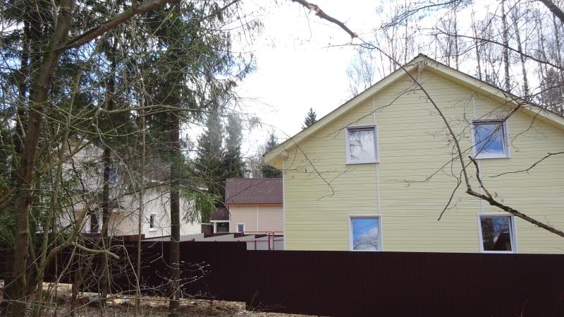 Продается новый дом в п.Деденево,ст. Турист,2-я Лесная ул