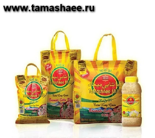 Miad Tamashee Basmati Rice, Басмати рис, длиннозерный рис