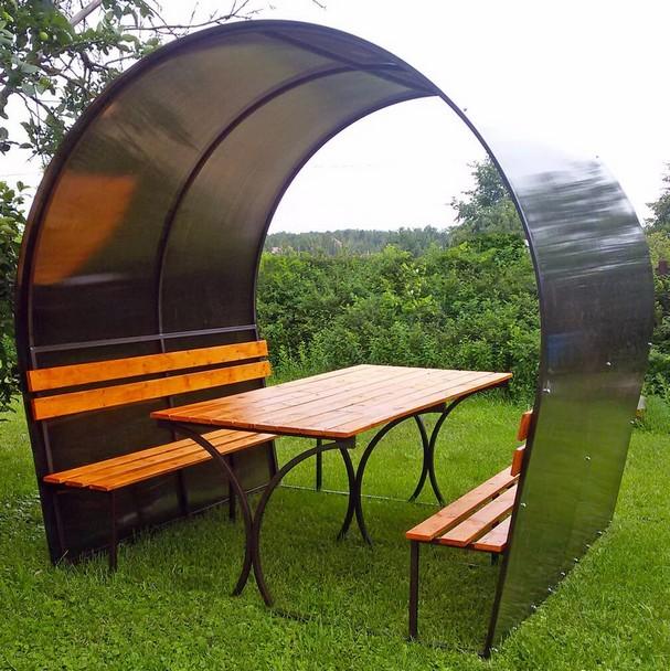 Уютные беседки, навесы и мебель для дачи и дома.