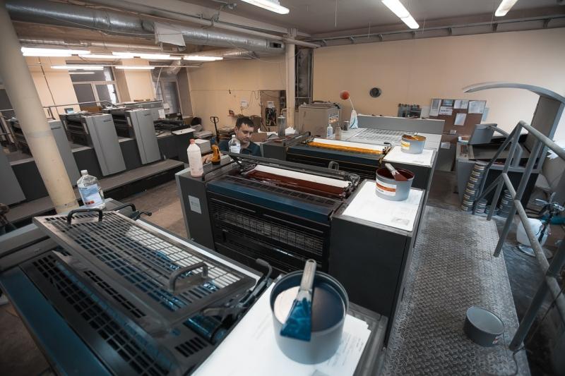 Продается офсетная типография в городе Санкт-Петербург
