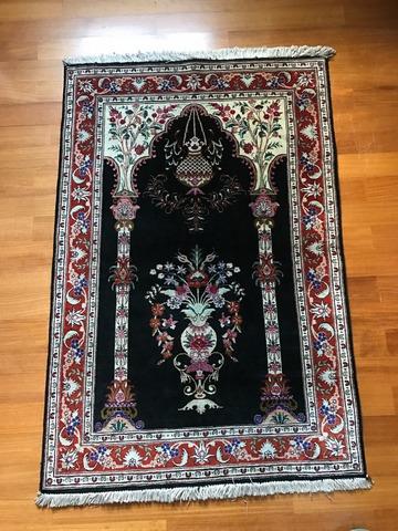 Персидские и китайские шелковые ковры ручной работы