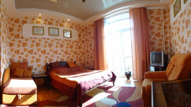Квартира с балконом в Верхнем городе