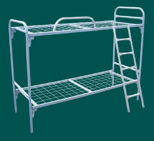 кровати для лагеря, кровати двухъярусные для строителей, кровати армейские