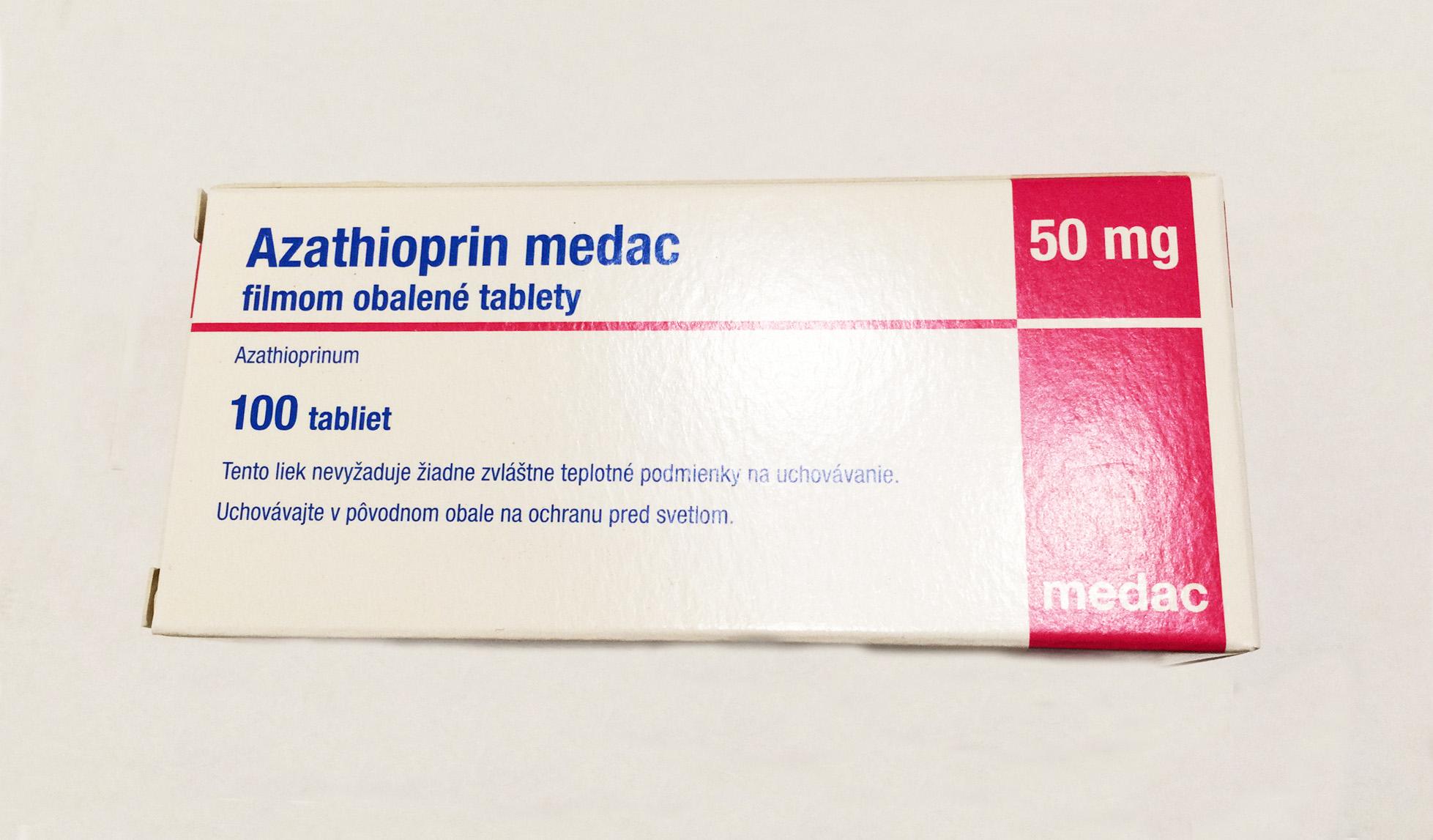 Азатиоприн Azathioprine 50 мг, 100 таблеток