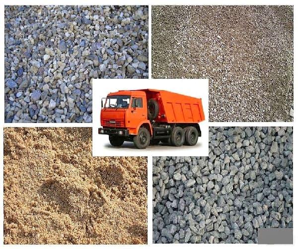 Продажа и доставка сыпучих строительных материалов в любом колличестве в Челябинске
