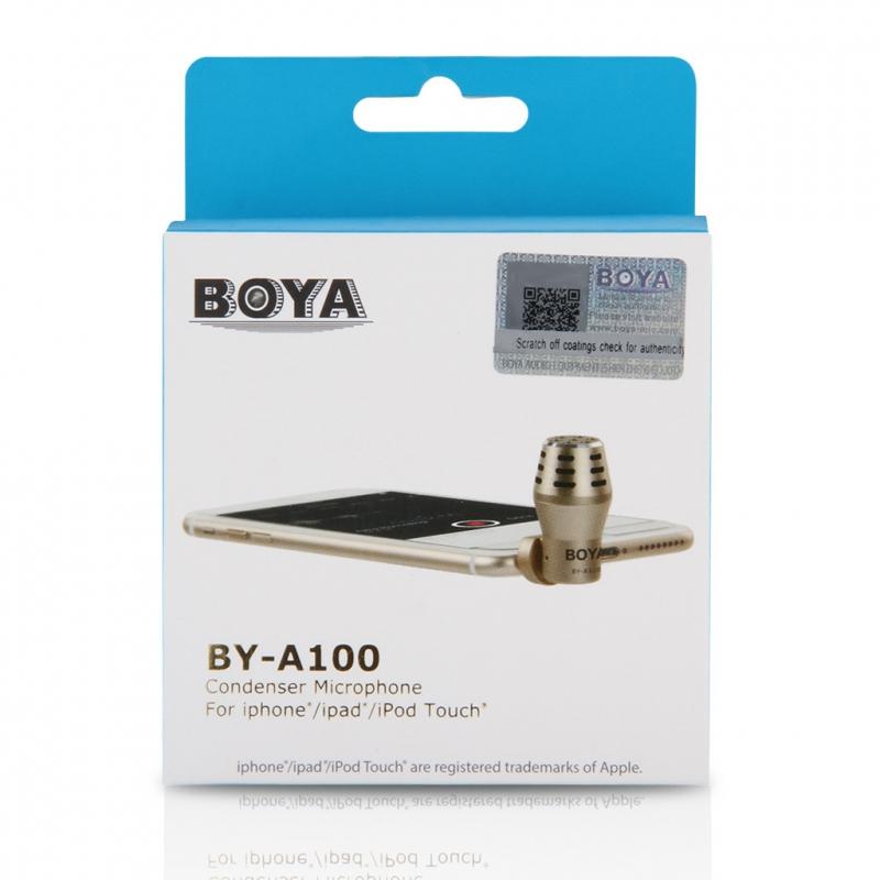 Boya BY-A100 Микрофон для iPhoneiPad