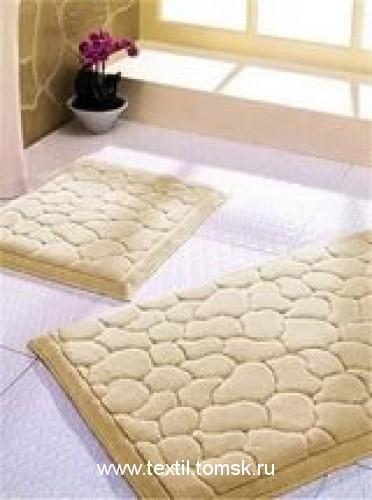 Набор ковриков для ванной на резиновой основе