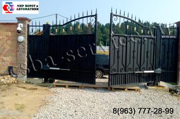 Продажа въездных ворот в Балашихе и Московской области.