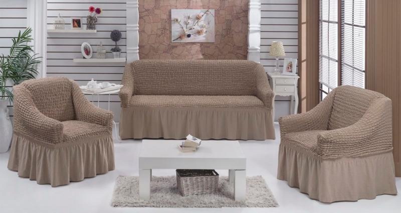 Наборы чехлов на диваны, угловые диваны