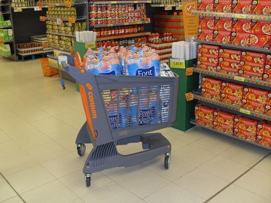 Продается помещение арендованное сетевым гипермаркетом Consum в Барселоне.