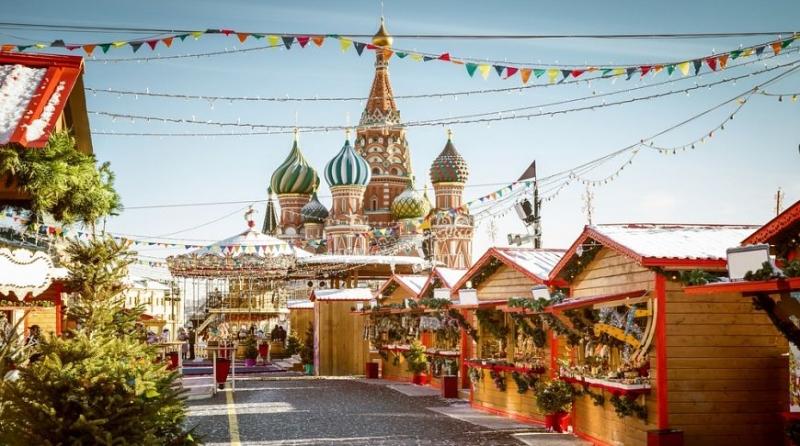 Рождество в Москве.