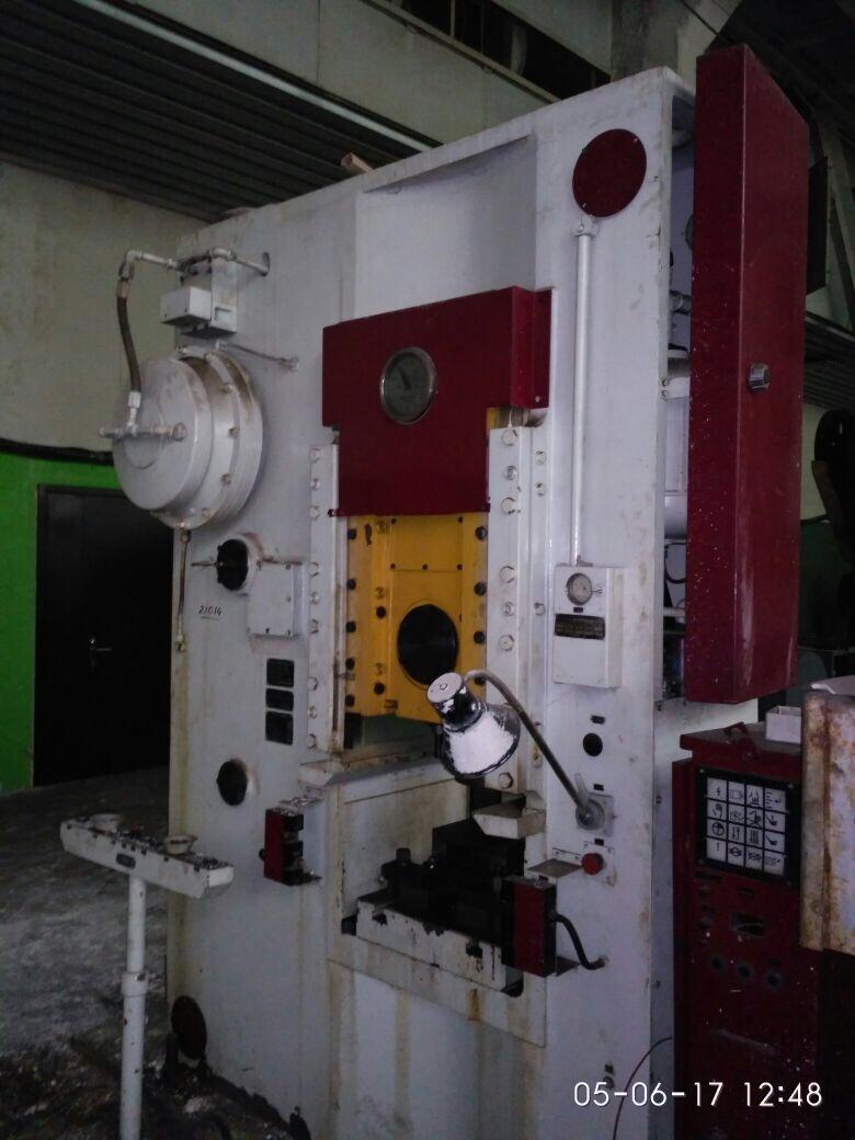 Прессовое оборудование различных моделей.