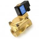 Клапан электромагнитный латунный ЗИТА тип 0955500 Ду 25, 220V50Hz