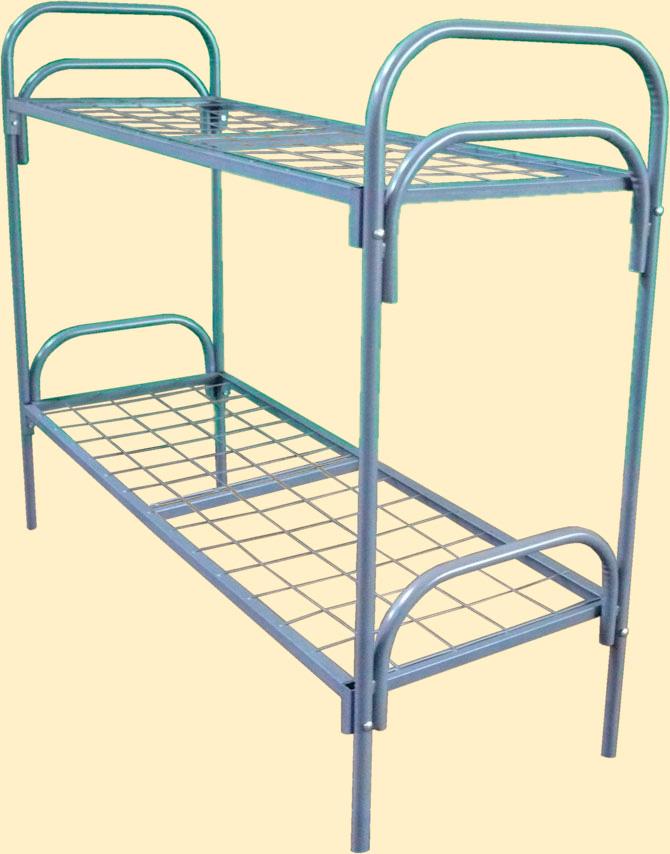 Кровати для лагеря, кровати железные, кровати одноярусные, железные кровати ГОСТ