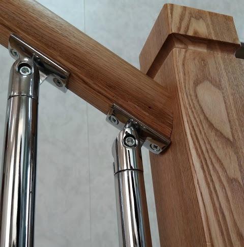 Комбинированные балясины для лестниц СПБ