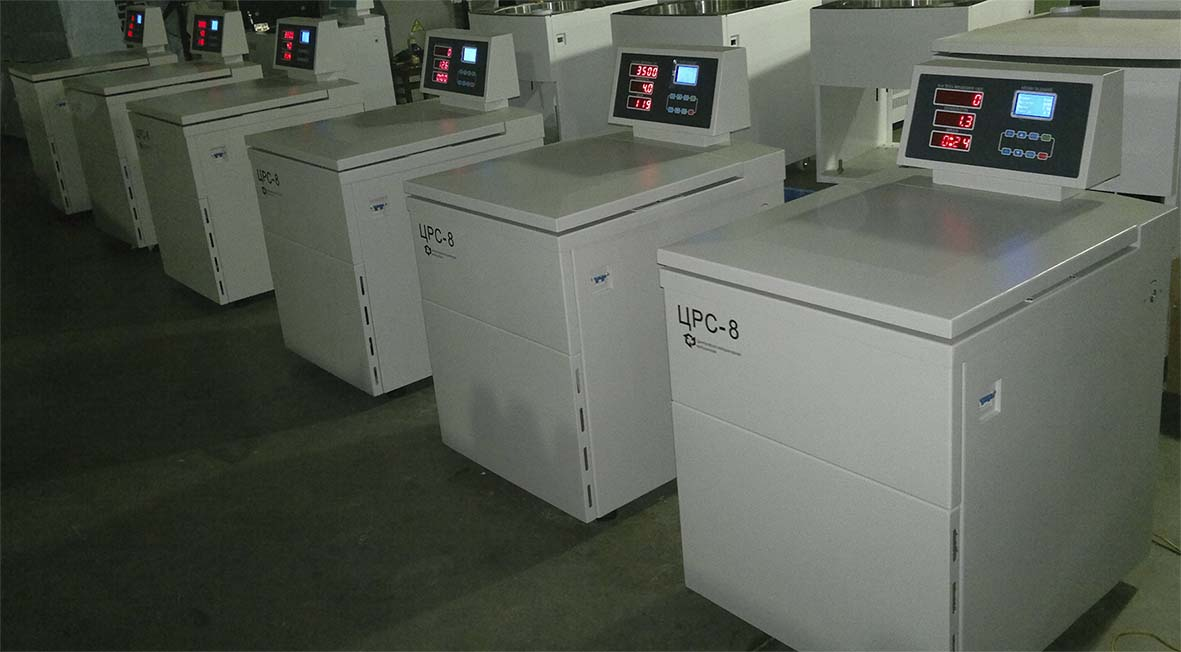 Рефрижераторная центрифуга для центров крови