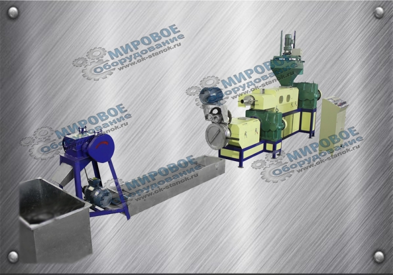 Линии грануляции, линии мойки и прочее оборудование для переработки