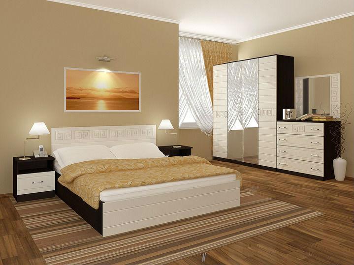 Новая спальня с матрасом Афина МДФ. В наличии