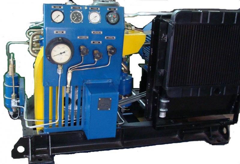 Воздушный компрессор в ВТ1.5-0.3150А3