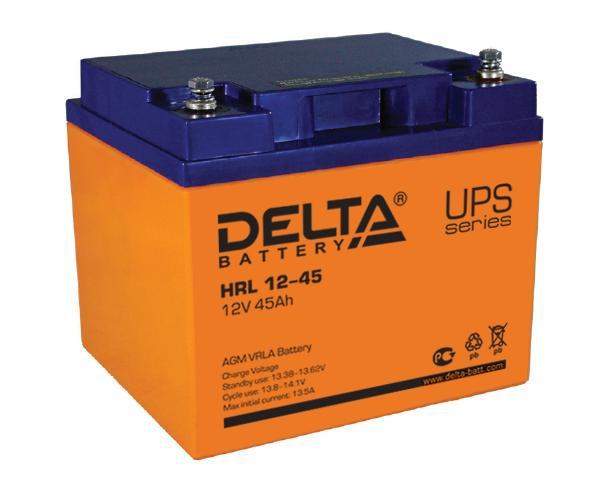 Аккумуляторная батарея для ИБП Delta HRL 12-45