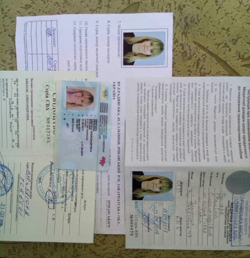 украинские водительские права автошкола киев